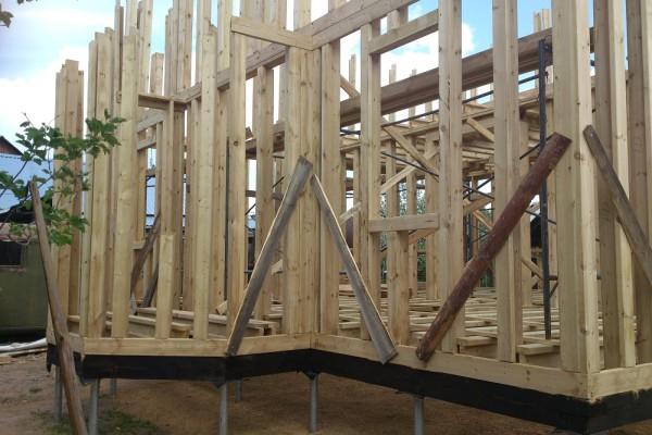 постройка дома