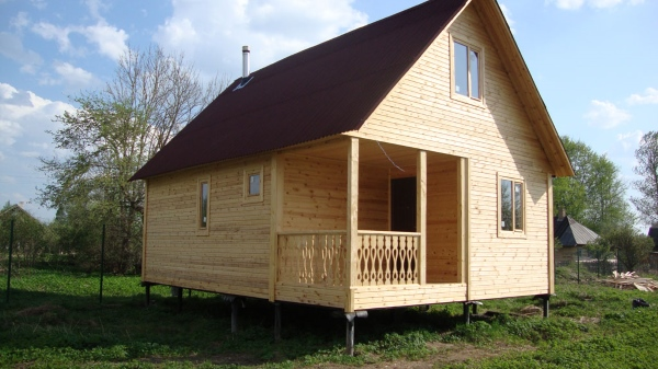 Винтовой фундамент для домов